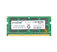 Crucial 8GB PC3L-12800S SODIMM RAM DDR3L 1600Mhz For Macbook Pro Mid-2012 A1278