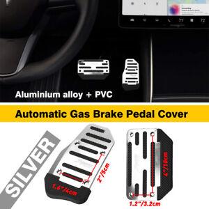 2X Universal Non-Slip Automatic Gas Brake Foot Pedal Pad Cover Car Accessory EOA