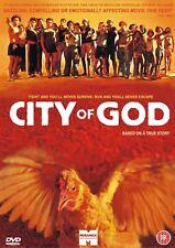 City Of God NEW & SEALED Region 2 Movie Night (DVD, 2003)
