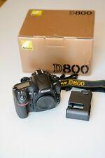 Nikon D800 36.3MP Digital SLR Camera - Black (Body Only) - US Official