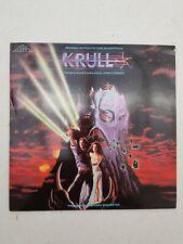 Rare 1983 KRULL ORIGINAL MOVIE SOUNDTRACK LP JAMES HORNER film 005 LSO VINYL