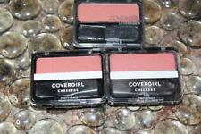 Lot of 3- CoverGirl Cheekers Blush #150 Pretty Peach Factory Sealed