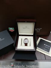 NEW TAG HEUER MENS WOMANS MONACO GIA HRD IGI ROUND DIAMOND RING WATCH WAW1316