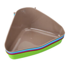 Pet Corner Toilet Litter Tray Box for Cat Mouse Rat Rabbit Hamster Plastic