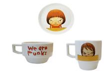 Yoshitomo Nara dish plate and cups Mori Museum Art PSL set of 3