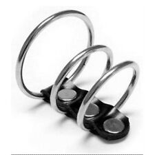 Stainless Steel Penis Ring Metal Triple Cock Cage Adult Sex Toy