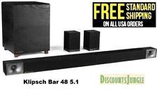 Klipsch BAR 48 5.1 home Theater System SURROUND SOUND SYSTEM jbl