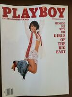 Playboy Magazine - October 1992 - Cristy Thom Cover, Girls of the Big East,