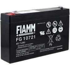 FIAMM Bleiakku FG10721 6V 7200mAh/43Wh Lead-Acid Schwarz