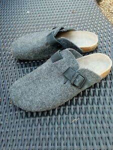 Mens Zara Home Wool Mule Slipper Size 9 EUR 43