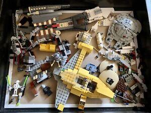 Star Wars Parts Lot Grievous Space Minifig Jedi Minifigure For Lego Figure Sets