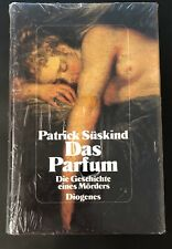 Patrick Suskind Das Parfum German Hardcover Sealed Brand New
