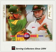1997/98  Select Cricket Trading Cards BOX CARD B3: D.Cullinan/S.Waugh