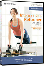 Stott Pilates: Intermediate Reformer, 2nd Edition (2007, DVD NIEUW)