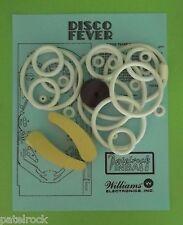 1978 Williams Disco Fever pinball rubber ring kit