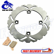 07-16 CBR600RR CBR1000RR Rear Brake Disc Rotor & Pads for Honda 08 09 10 11 12