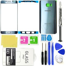 Samsung Galaxy Note 5 N920 -OEM Silver- Front Screen Glass Back Replacement Kit