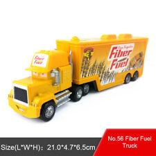 Disney Pixar Car No.56 Fiber Fuel Hauler Truck Toy Car 1:55 Loose Boys Kids Gift