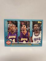 Kobe Bryant Shaquille O'Neal Vince Carter Iverson 2001 Topps League Leaders #215