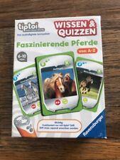 Ravensburger TipToi Faszinierende Pferde von A-Z Lernspiel Wissen & Quizzen