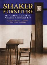 Shaker Furniture: The Craftsmanship of an American Communal Sect-ExLibrary