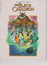 WALT DISNEY'S  THE BLACK CAULDRON  1985   NM