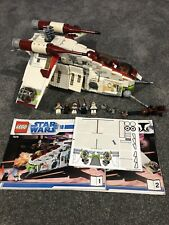 Lego Star Wars 7676 Republic Gunship 100% Complete with Instructions!