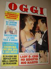 OGGI=1988/6=FIAMMA IZZO=MAURIZIO MONTALBINI=LUCIANO MINGUZZI=CARLO DE BENEDETTI=