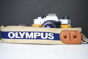 Olympus Vintage Camera Strap |OM10, OM20, OM30, OM40, OM1, OM2, OM3, OM4