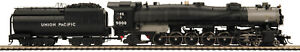 HO MTH Die-Cast Union Pacific 9000 2 Rail DC w/DCC, Sound, Smoke 80-3298-1