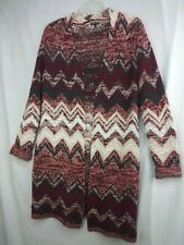 HANNA ANDERSSON, Hanna Cardigan Sweater Long Open Size S