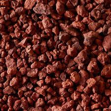 "4 lbs. Denitrifying Aquarium Red Lava Rocks ""DIY"" Caves, Fire Pits, ""Grilling"""