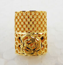 Indian Ethnic Bollywood 22k Gold Plated UK Fashion Jewelry Rings Adjustable gr4