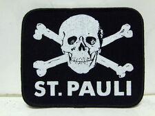 Aufnäher Patch St. Pauli Reeperbahn 8,5 x 10,3 cm