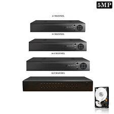 More details for 5mp cctv 4 8 16 32 channel dvr ahd 1920p digital video recorder hdmi vga bnc uk