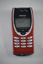 Nokia 8210 - Rot ( Simlock ?) Handy Klassisch Sammler Stuck Infrarot #63