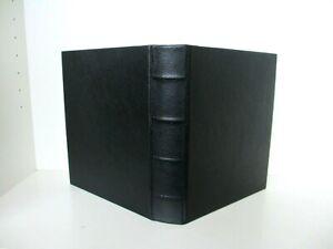 Graphic Image Photo Album Medium 7x9 Ring Binder Clear Pockets  Black
