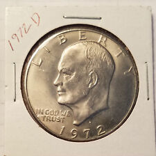 1972-D Eisenhower Dollar - Brilliant Uncirculated - 1 coin