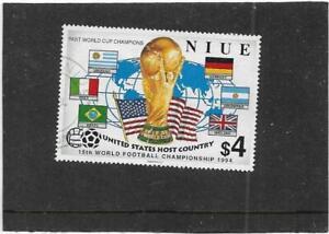 NIUE 1994 WORLD CUP FOOTBALL CHAMPIONSHIP,U.S.A.  SG.779 FINE USED