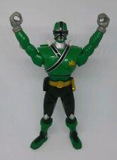 "2011 Bandai Power Rangers SAMURAI SWITCH Green Ranger Action Figure 7"""