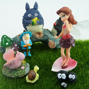 Miniature Fairy and Friends - Fairy Garden Set by Mowbray Miniatures (8 pcs)