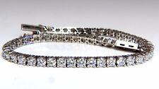 5.18ct Natural diamonds Tennis Bracelet 14kt G/Vs 7 inch 54 count