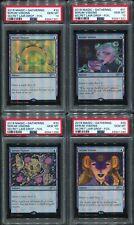 Secret Lair Seeing Serum Visions set of 4 Foil PSA 10 Gem Mint MTG Magic