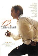 12 Years A Slave ~ Michael Fassbender Brad Pitt ~ DVD WS ~ FREE Shipping USA