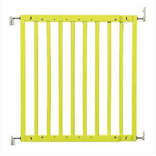 """New listing Primetime Petz Safety Mate Expandable Pet Safety Gate, Neon Lime, 40.7"""" L X 1"""" W"""