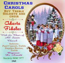 Choir of All Saints Margaret Street - Carols  Borton / Copcutt Boy Sopranos 1965