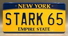 Avengers: Age of Ultron / Tony's Audi / STARK 65 *STAMPED* Prop License Plate