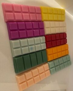 HIGHLY SCENTED SOY WAX BARS FOR TEA LIGHT/ELECTRIC BURNER FREE P&P