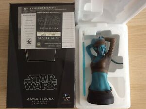 Gentle Giant Star Wars Aayla Secura 1:6 Scale Mini Bust Statue Diamond Select