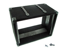 "Procraft 8U 12"" Deep Equipment Rack 8 Space - Made in the USA - With Rack Screws"